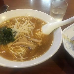 味噌ラーメン半チャーセット    中華飯店  高伸    @中目黒