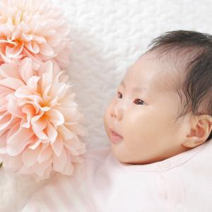 撮影│生後1ヶ月のかわいい女の子