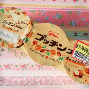プッチンプリンキャラメルナッツ☆グリコ