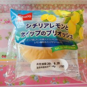 シチリアレモンとホイップのブリオッシュ☆Pasco