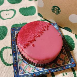 ルビーチョコレートケーキ☆STARBUCKS