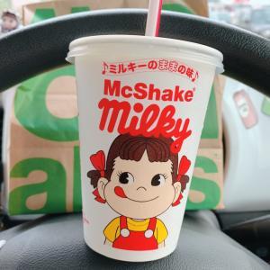 マックシェイクⓇミルキーのままの味☆マクドナルド