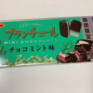ブランチュールチョコミント味☆ブルボン