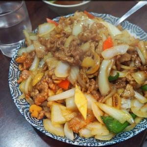長崎菜館で皿うどん@八丁堀