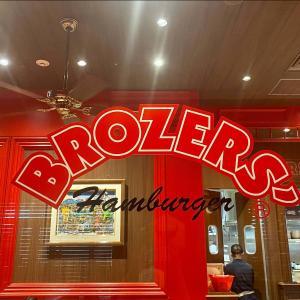 ブラザーズでハンバーガー@日本橋高島屋店