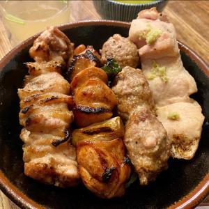 京橋伊勢廣(KYOBASHI ISEHIRO)本店で焼鳥丼