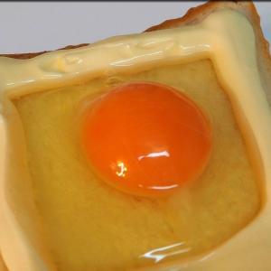 佐藤健の「こがしマヨたまトースト」を作ってみた
