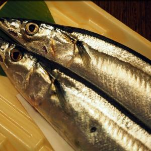 秋だからやっぱり秋刀魚の塩焼きでしょう♪