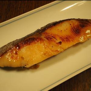 夕飯は京粕漬魚久のぎんだらといか
