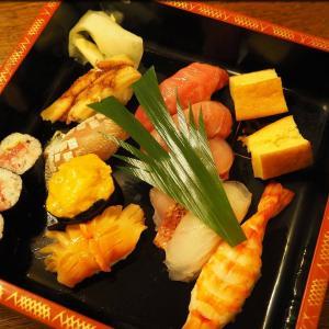 都寿司でおまかせにぎりを出前