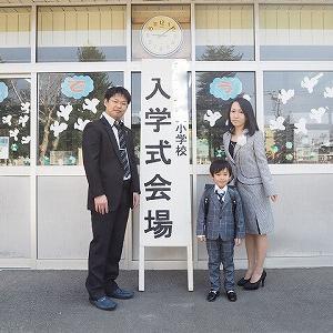 ☆★入学式♪新たな気持ちで二人とも楽しく行き始める♪