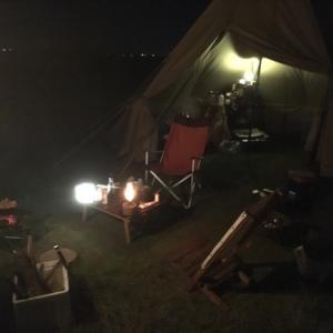 キャンプの秋…