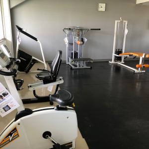 トレーニング室、改装