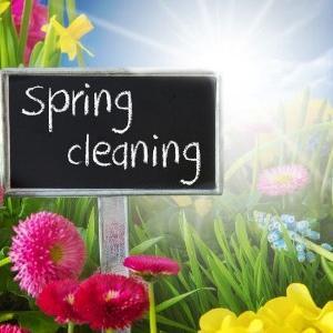 春だから掃除でもするか