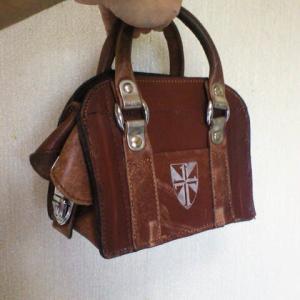 本革製学生鞄のミニリメイク