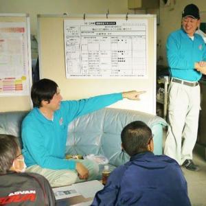エコ安全ミーティング(r1年12月度・藤枝(営))を実施。「ヒヤリハット」「貨物の正しい積載方法と労働災害事例」等