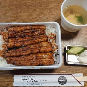 うな重弁当 テイクアウト。~一品料理 寿司 はせがわ(浜松市中区)~さん