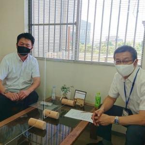 静岡運送株式会社(焼津市) 高橋社長様にご来社頂きました。