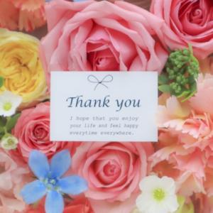 ●「ありがとう」って言われたら「ありがとう」って返そう♡