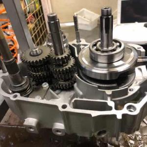GPX125エンジンに5速ミッションを入れる