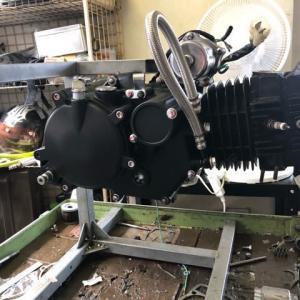 自分のマグナフィフティ用エンジンが完成しました
