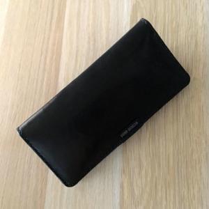 黒ヌメの長財布 最高素材で完成