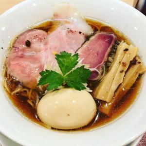 大阪福島で行列の鴨そば(ラーメン)「燃えよ麺助」(大阪 福島)