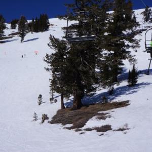 記録的な雪不足