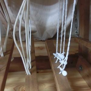 タイアップの紐を変えました