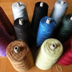 きれいな木綿糸11色入荷