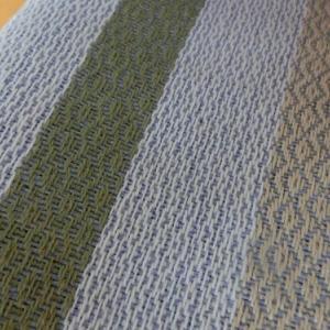 椅子の座面も手織り布が生きます~