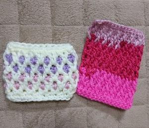 模様編み色々