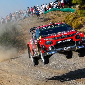 【WRC】第11戦トルコDay4:シトロエンのオジエが3勝目。タナクはランキング首位守る