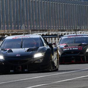 【SUPER  GT】3メーカーの2020年マシン揃い踏み! オートポリスGT500テスト始まる
