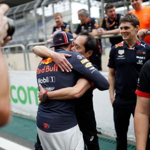 ホンダ田辺TDブラジルGP優勝インタビュー:「セナと本田宗一郎さんの二人に胸を張れる結果出せた」