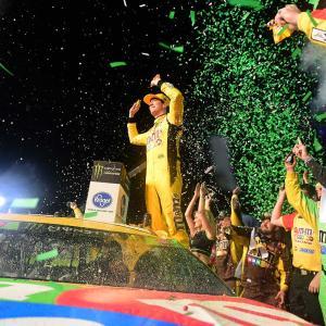 【NASCAR】最終戦 : カイル・ブッシュが自身2度目の栄光。トヨタは通算3度目のチャンピオン
