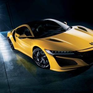 ホンダ、NSXの2020年モデル発表。鮮やかな新色インディイエロー・パールllが追加
