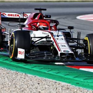 F1バルセロナテスト2 結果・タイム(1日目・午前)