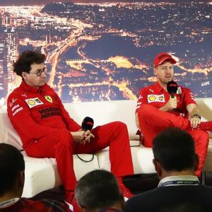 フェラーリ代表&ベッテル「狙いどおり、コーナーで速いマシンを作り上げることができた」