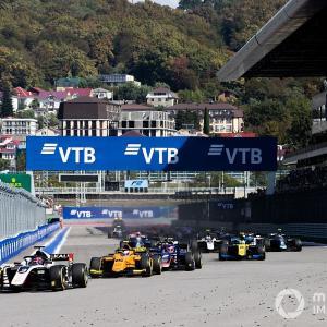【F2】FIA-F2、ソチ戦開催決定で10ラウンド20戦を確保。今後さらなるレース追加が濃厚