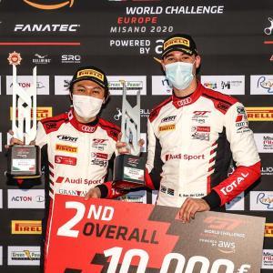 【GTWC-E】スプリントカップ第1戦ミサノ : 富田組アウディがレース1で2位獲得