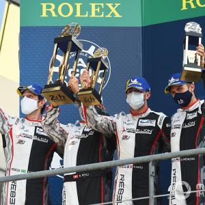 【WEC】ブルーノ・セナ、8度目の挑戦でやっと届いたル・マン初表彰台「素晴らしい成果だ!」