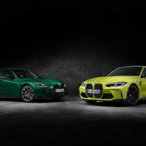 新型BMW M3/M4正式発表!初の4WDを備えホイールは前後異径!