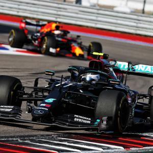 F1ロシアGP 結果:ボッタスが今季2勝目、フェルスタッペン2位表彰台