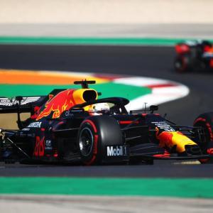 F1ポルトガルGP 予選Q3:マックス・フェルスタッペンは3番手