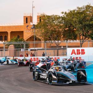 【FE】サウジアラビアでの第3~4戦が初のナイトレースに。最新の低消費LED技術を使用