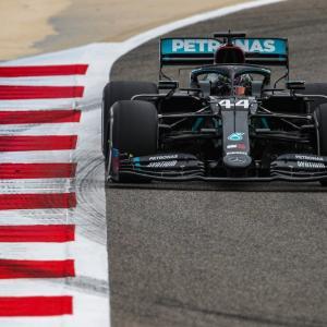F1バーレーンGP フリー走行1回目 結果:メルセデスF1がワンツー発進