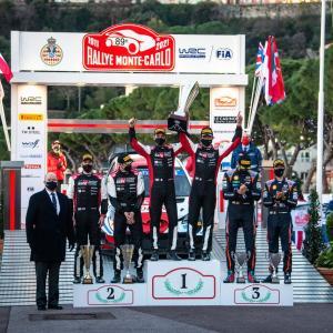 【WRC】2021WRC第1戦モンテカルロ後ポイントランキング