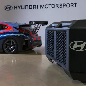 【ピュアETCR】ヒュンダイグループのHTWOがETCRに燃料電池発電機の供給を発表