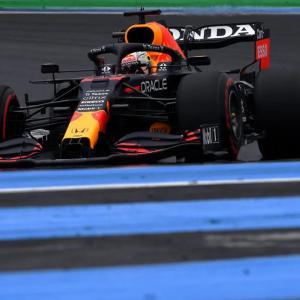 F1フランスGP 予選Q3:フェルスタッペンが圧巻のポール獲得!